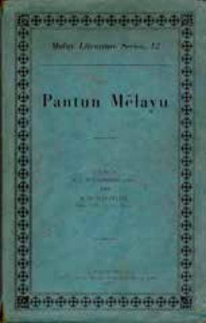 Malay pantuns compiled by R J Wilkinson