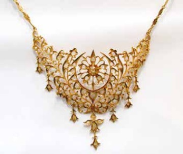 traditional jewellery with name