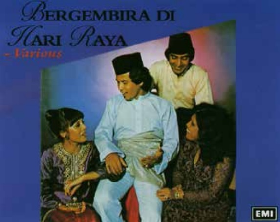 EMI Bergembir cover, photo courtesy of Khir Johari