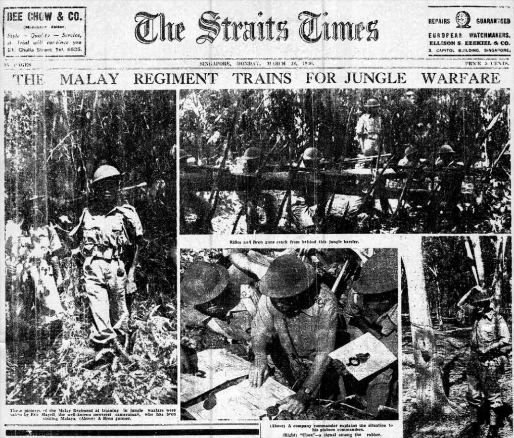 The Straits Times 18 March 1940