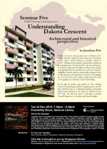 SS Seminar 5: Dakota Crescent in architectural and historical perspectives